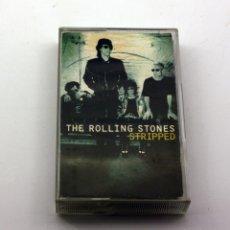 Casetes antiguos: THE ROLLING STONES - STRIPPED - 1995 - FABRICADO EN HOLANDA - VIRGIN. Lote 147239618