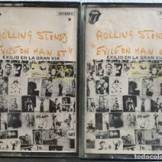 Casetes antiguos: THE ROLLING STONES - EXILE ON MAIN ST. 1 Y 2. Lote 145774134