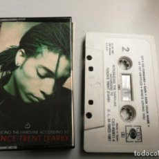 Casetes antiguos: TERENCE TRENT D'ARBY ?– INTRODUCING THE HARDLINE ACCORDING CASSETTE 1987 CBS. Lote 147668450
