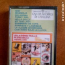 Casetes antiguos: CASETE LOS MEJORES TEMAS DE COMEDIAS MUSICALES. Lote 147678990