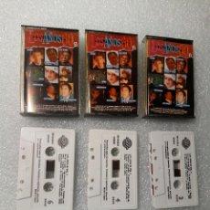 Casetes antiguos: LOS AÑOS 60 VOL VOLUMEN 1 2 3 I II II CINTA CASETTE CASET CASETE. Lote 147679606