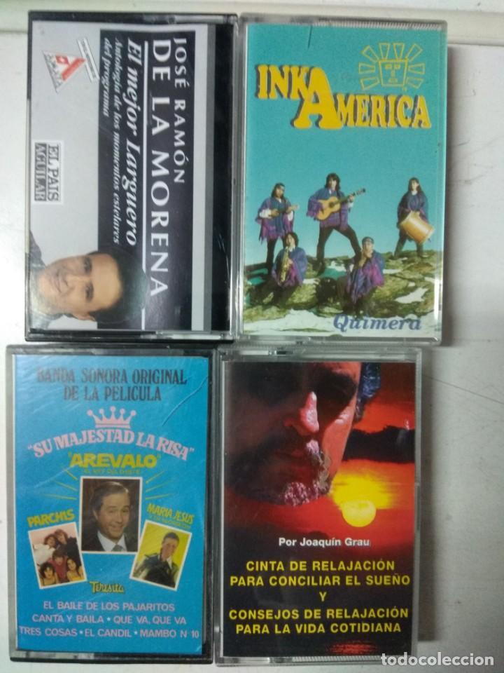 LOTE CINTAS INKA AMÉRICA, EL LARGUERO, ARÉVALO, RELAJACIÓN (Música - Casetes)
