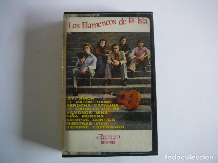 LOS FLAMENCOS DE LA ISLA. STEREO MONO. OLYMPO. 1976. CASSETTE. (Música - Casetes)