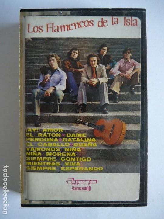 Casetes antiguos: Los flamencos de la Isla. Stereo Mono. Olympo. 1976. Cassette. - Foto 2 - 147770442