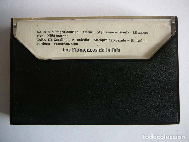 Casetes antiguos: Los flamencos de la Isla. Stereo Mono. Olympo. 1976. Cassette. - Foto 3 - 147770442
