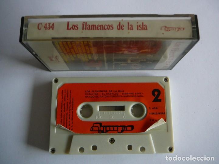Casetes antiguos: Los flamencos de la Isla. Stereo Mono. Olympo. 1976. Cassette. - Foto 5 - 147770442