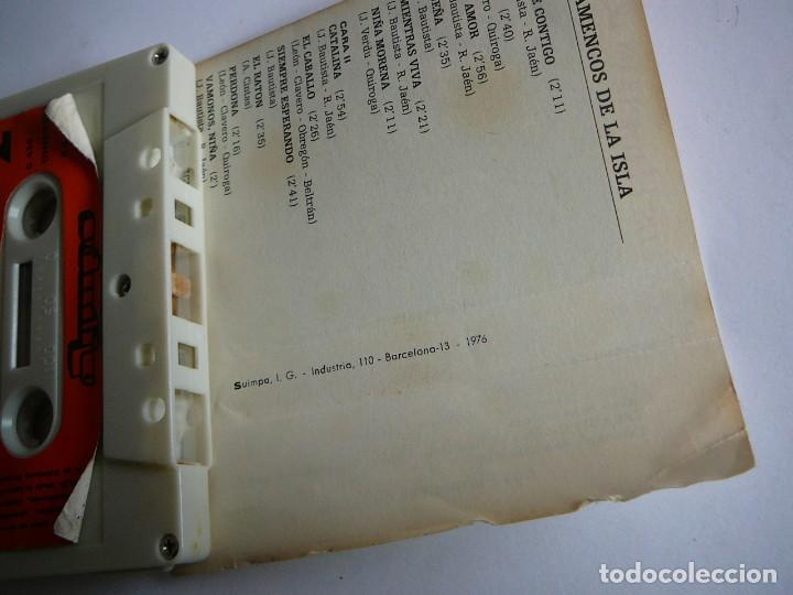 Casetes antiguos: Los flamencos de la Isla. Stereo Mono. Olympo. 1976. Cassette. - Foto 7 - 147770442