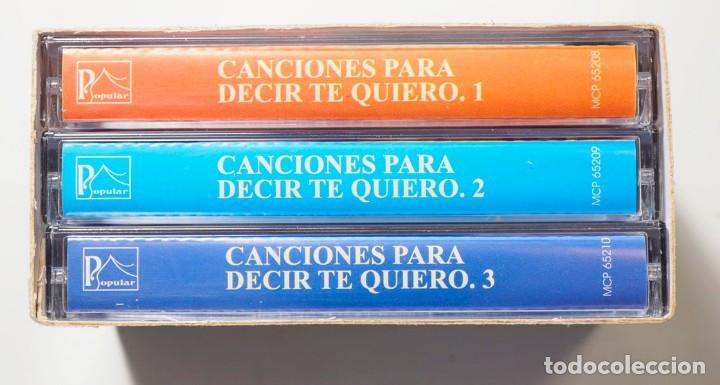 50 CANCIONES PARA DECIR TE QUIERO (Música - Casetes)
