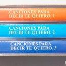 Casetes antiguos: 50 CANCIONES PARA DECIR TE QUIERO. Lote 147771882