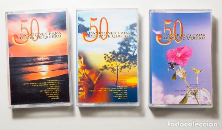 Casetes antiguos: 50 Canciones para decir te quiero - Foto 3 - 147771882