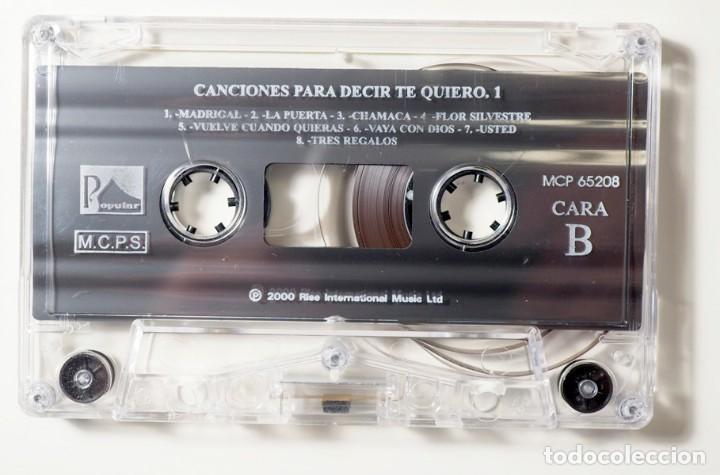 Casetes antiguos: 50 Canciones para decir te quiero - Foto 4 - 147771882