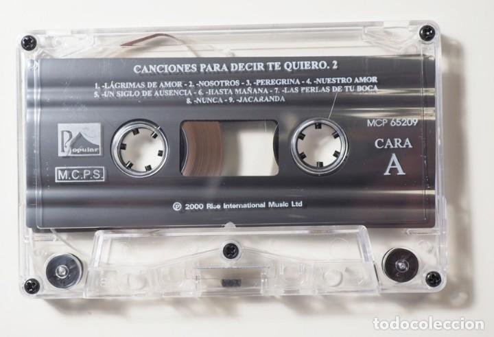 Casetes antiguos: 50 Canciones para decir te quiero - Foto 5 - 147771882