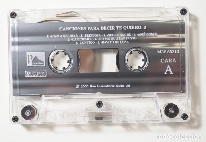 Casetes antiguos: 50 Canciones para decir te quiero - Foto 6 - 147771882