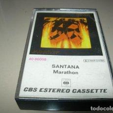 Casetes antiguos - SANTANA MARATHON 1979. CBS. CASSETTE, CASETE - 148276646