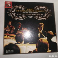 Casetes antiguos: MOZART THE COMPLETE PIANO CONCERTOS DANIEL BARENBOIM ENGLISH CHAMBER ORCHESTRA VOLUME 2, CASETTES 4. Lote 148288558