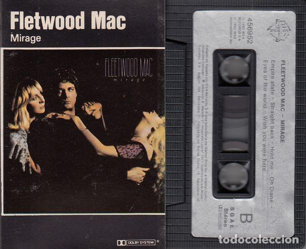 FLEETWOOD MAC - MIRAGE - CINTA DE CASETE - CASSETTE TAPE (Música - Casetes)
