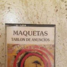 Casetes antiguos: CINTA MAQUETAS TABLON DE ANUNCIOS RNE 1986. Lote 148958182