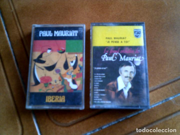 LOTE DE CASETES DE PAUL MAURIAT , IBERIA Y PAUL MAURIAT JE PENSE A TOI (Música - Casetes)