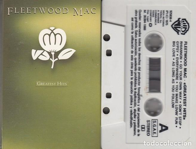 Casetes antiguos: FLEETWOOD MAC - GREATEST HITS - CINTA DE CASETE - CASSETTE TAPE - Foto 1 - 150447330