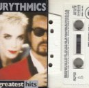 Casetes antiguos: EURYTHMICS - GREATEST HITS - CINTA DE CASETE - CASSETTE TAPE. Lote 150459930