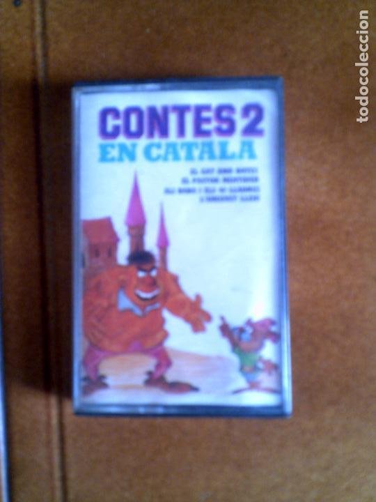 CASETE CONTES 2 EN CATALA (Música - Casetes)