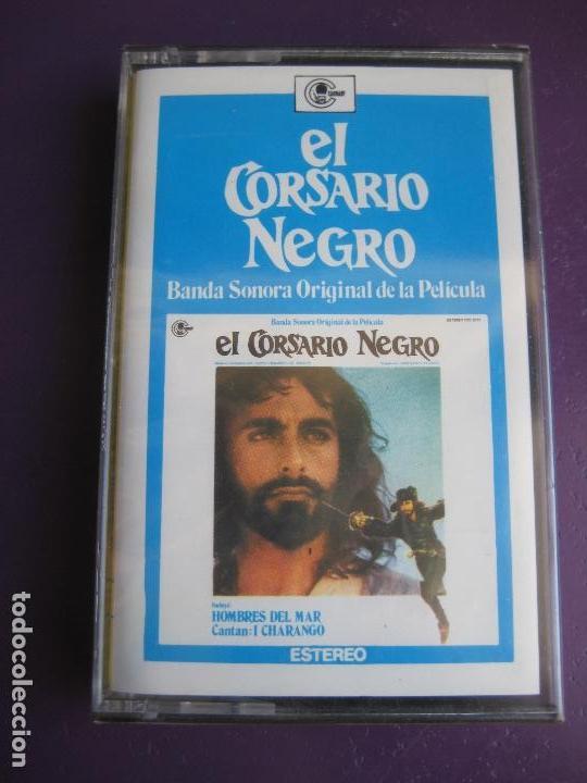 EL CORSARIO NEGRO CASETE CARNABY 1977 GUIDO MAURIZIO D'ANGELIS - BSO CINE TVE - FUNK SOUL PSICODELIA (Música - Casetes)