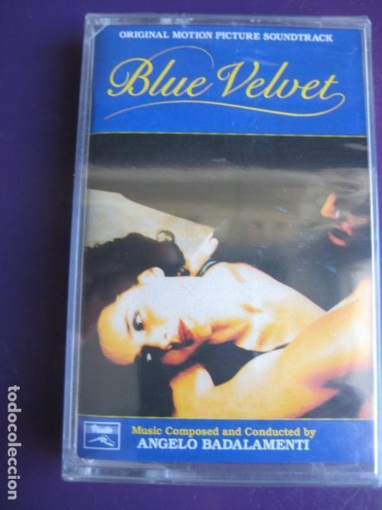 ANGELO BADALAMENTI - BLUE VELVET CASETE PRECINTADA 1991 - DAVID LYNCH - (Música - Casetes)