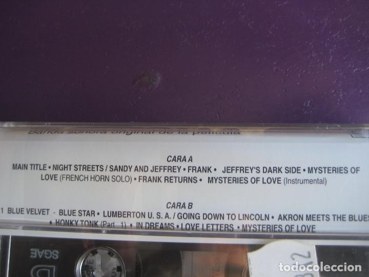 Casetes antiguos: ANGELO BADALAMENTI - BLUE VELVET CASETE PRECINTADA 1991 - DAVID LYNCH - - Foto 2 - 150929290