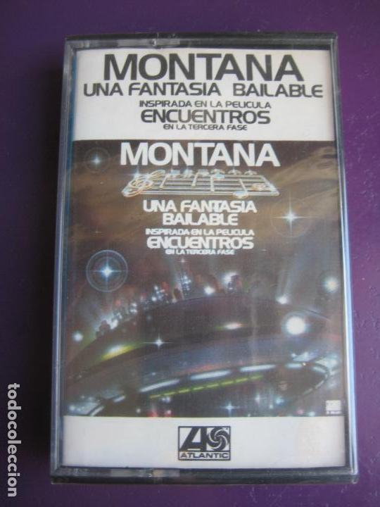 MONTANA CASETE HISPAVOX PRECINTADA 1978 - FUNK SOUL DISCO - UNA FANTASIA BAILABLE ENCUENTROS 3ª FASE (Música - Casetes)