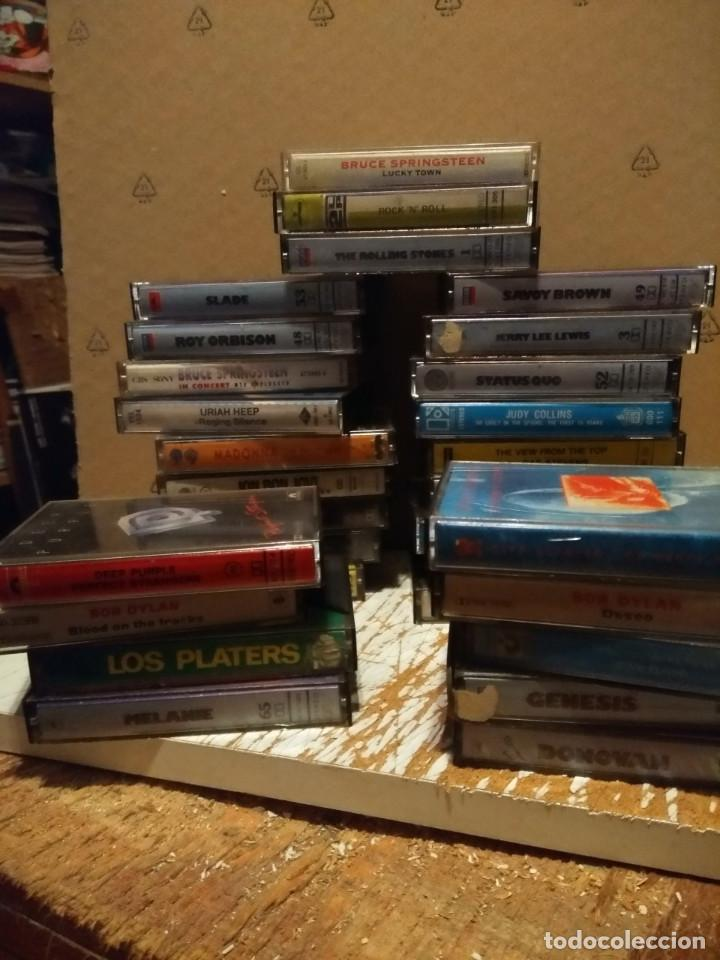 Casetes antiguos: LOTE 30 CASETES POP ROCK ( ROLLING STONES, DIRE STRAITS, BRUCE SPRINGSTEEN. BOB DYLAN, GENESIS ETC - Foto 1 - 151026718