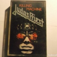 Casetes antiguos: JUDAS PRIEST-KILLING MACHINE, - ORIGINAL ESPAÑOL. Lote 151308270