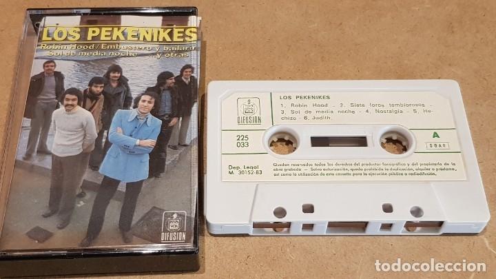 Casetes antiguos: LOS PEKENIKES / MC - HISPAVOX DIFUSIÓN - 1983 / CALIDAD LUJO. - Foto 2 - 151354838