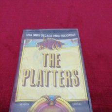 Casetes antiguos: THE PLATTERS. Lote 151357946