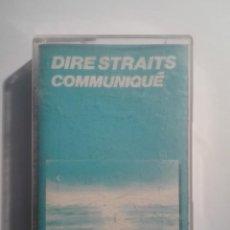 Casetes antiguos: DIRE STRAITS-COMMUNIQUE. Lote 151403290