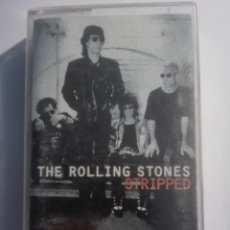 Casetes antiguos: THE ROLLING STONES-STRIPPED. Lote 151403738