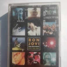 Casetes antiguos: BON JOVI-ONE WILD NIGHT-LIVE 1985-2001. Lote 151404038