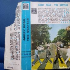 Casetes antiguos: THE BEATLES - ABBEY ROAD - CINTA DE CASETTE DE EMI ODEON AÑO 1970 EDICION ESPAÑOLA. Lote 151518334