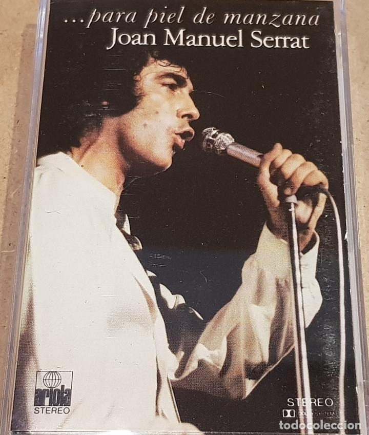 JOAN MANUEL SERRAT / PARA PIEL DE MANZANA / MC - ARIOLA - 1975 / BUENA CALIDAD. (Música - Casetes)