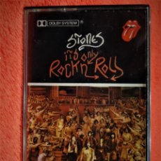 Casetes antiguos: THE ROLLING STONES IT´S ONLY ROCK´N ROLL HISPAVOX CH 438 ESPAÑA 1974. Lote 151654322