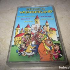 Casetes antiguos: THE FANTASY STARS - WELCOME TO WONDERLAND CASETE - DISKY 1997. Lote 151671566