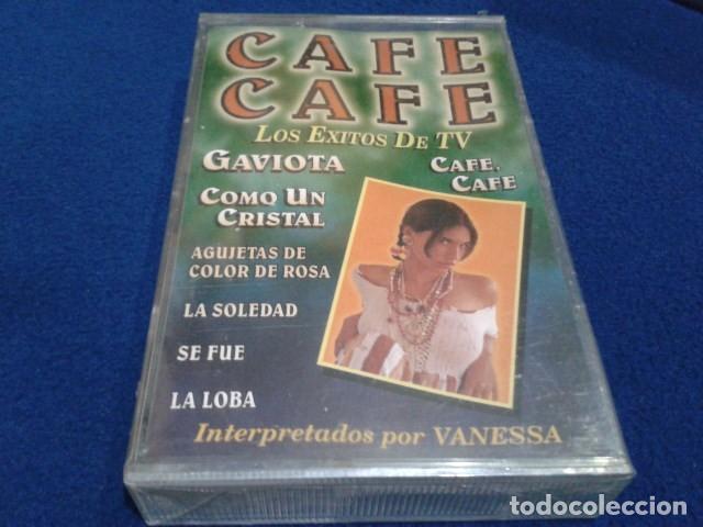 CASETE LATINOS RECORDS ( CAFE CAFE ) LOS EXITOS DE TV PRECINTADA NUEVA (Música - Casetes)