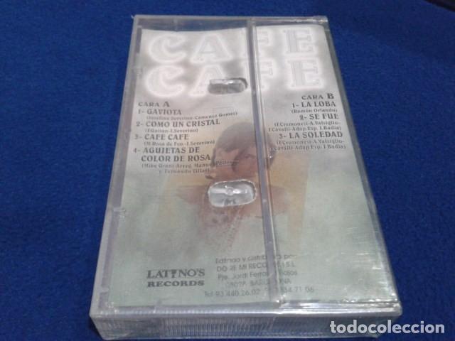 Casetes antiguos: CASETE LATINOS RECORDS ( CAFE CAFE ) LOS EXITOS DE TV PRECINTADA NUEVA - Foto 2 - 151983702