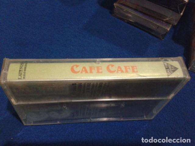 Casetes antiguos: CASETE LATINOS RECORDS ( CAFE CAFE ) LOS EXITOS DE TV PRECINTADA NUEVA - Foto 3 - 151983702