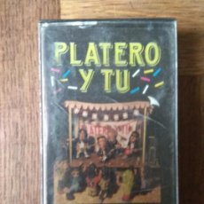 Casetes antiguos: PLATERO Y TU- BURROCK'N ROLL - CASETE 1990 ARION -. Lote 151983930