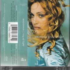 Casetes antiguos: MADONNA - RAY OF LIGHT (CASSETTE MAVERICK 1998 ALEMANIA). Lote 151986346