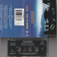 Casetes antiguos: QUEEN - MADE IN HEAVEN (CASSETTE PARLOPHONE 1995 HOLANDA) FREDDIE MERCURY. Lote 151986642
