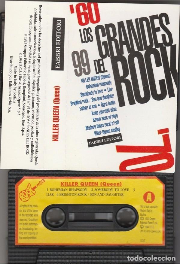 QUEEN - KILLER QUEEN (CASSETTE FABBRI EDITORI 1994 ESPAÑA) FREDDIE MERCURY (Música - Casetes)