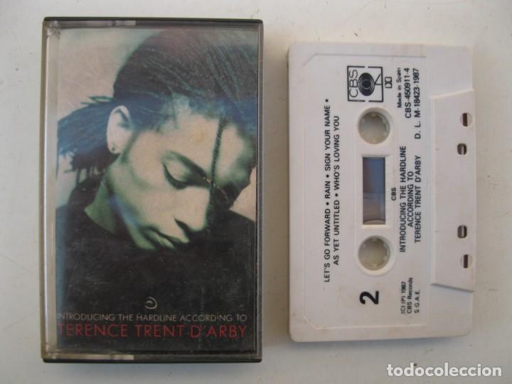 CASETE - TERENCE TRENT D'ARBY - INTRODUCING THE HARDLINE... - CBS - AÑO 1987 - CINTA DE CASETTE. (Música - Casetes)