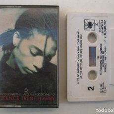 Casetes antiguos: CASETE - TERENCE TRENT D'ARBY - INTRODUCING THE HARDLINE... - CBS - AÑO 1987 - CINTA DE CASETTE.. Lote 152136474