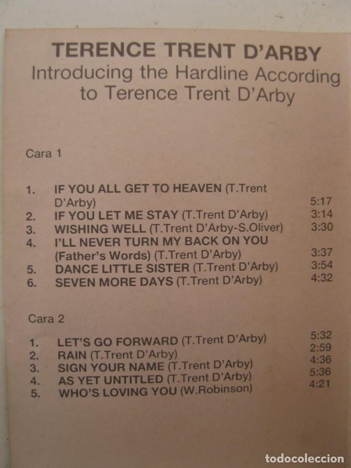 Casetes antiguos: CASETE - TERENCE TRENT D'ARBY - INTRODUCING THE HARDLINE... - CBS - AÑO 1987 - CINTA DE CASETTE. - Foto 2 - 152136474